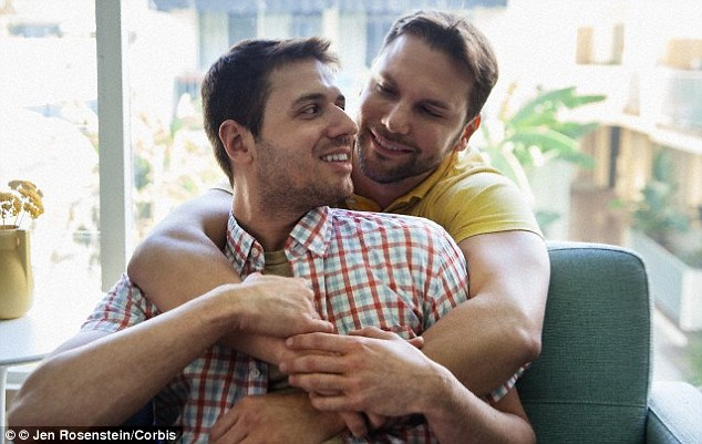 Scientists say further research will be needed to validate whether the patterns seen on the DNA of gay men (pictured) are reflected in larger populations. They say claims about predicting homosexuality are 'bold'