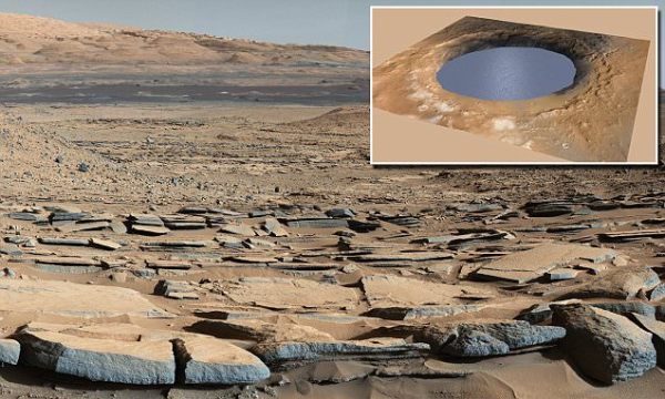 Curiosity rover finds crater it is exploring was a Martian ...