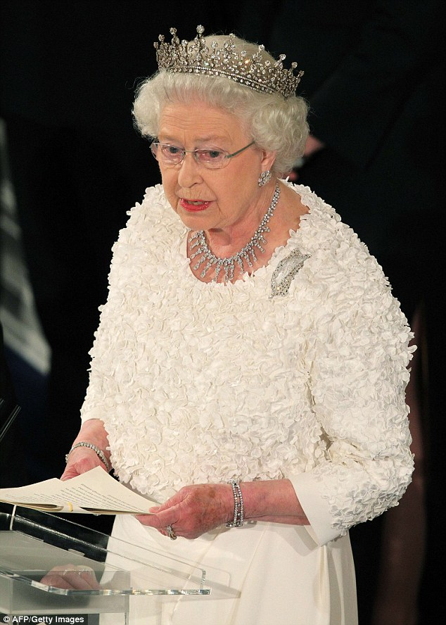 It is said to be one of the Queen's favourites and she is likely to wear it herself