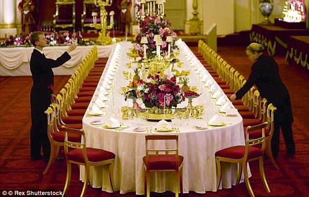 As the royals entertain the Chinese leader Xi Jinping, the Duchess is likely be seated in a prominent position on the grand horseshoe-shaped table