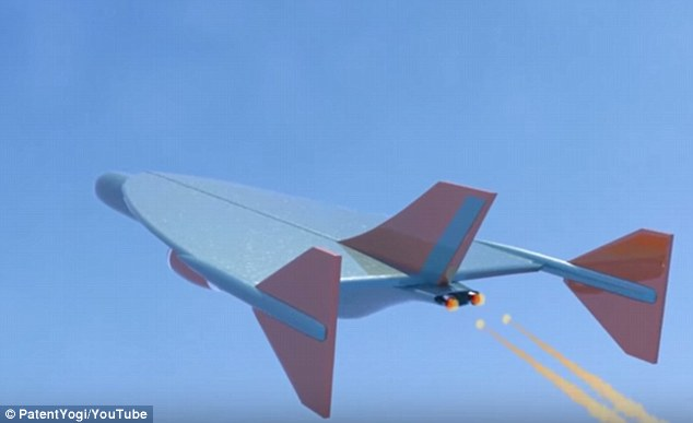 Airbus says it has designed the craft's aerodynamics (illustrated)  to limit sonic boom, making it much quieter than Concorde, which some complained was too noisy when it flew over land