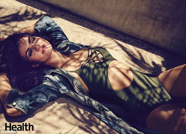 Picture of Health: Victoria admitted she still has Hashimoto's but that 'things have leveled out and I'm back to normal'; the star certainly proved that in this sultry swimsuit shot for the magazine