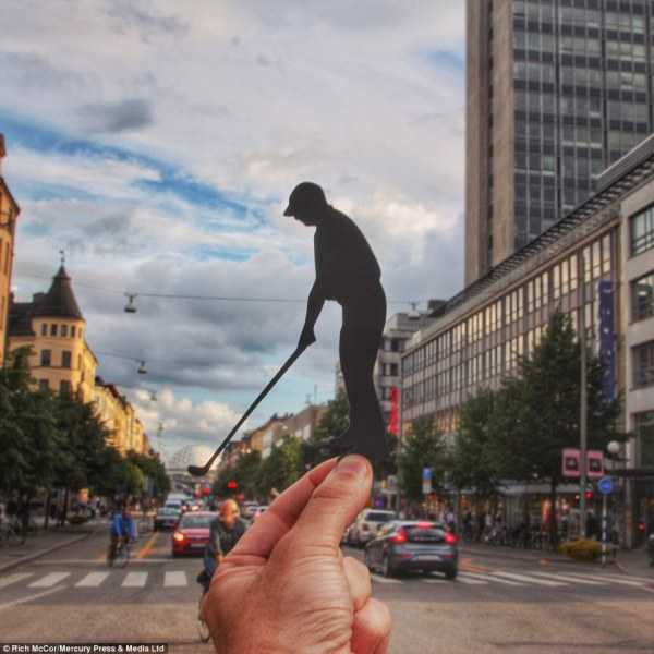 London artist Rich McCor remodels most iconic landmarks ...
