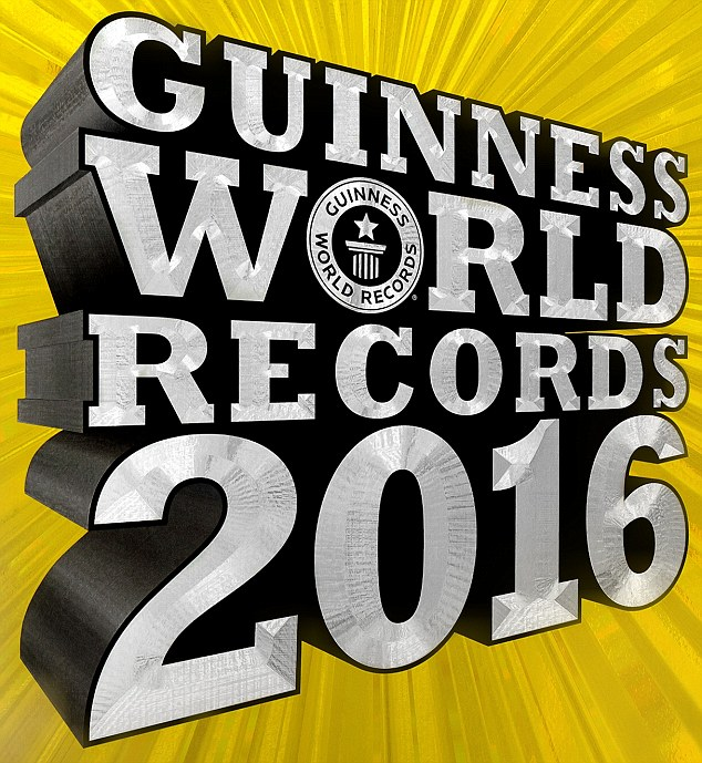 The Guinness World Records 2016 book is brimming with amazing trivia - and is on sale now