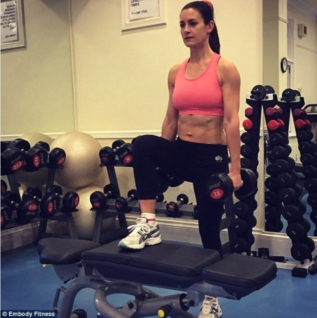 Kirsty Gallacher S Ex Trainer Reveals How The Ripped