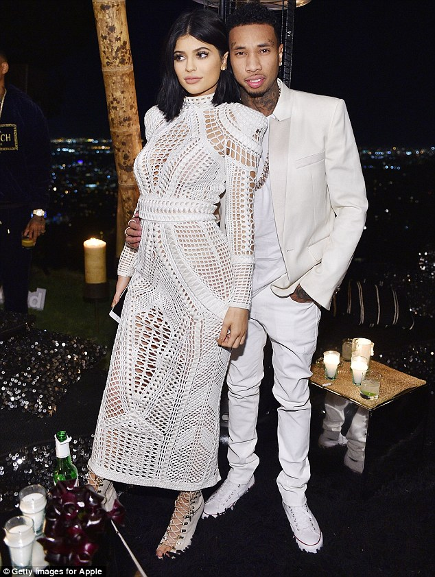 Here they are: Kylie and Tyga looked every inch the power couple as they posed for pictures throughout the night