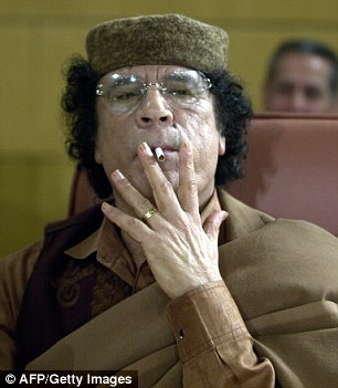 GOP presidential candidate Donald Trump claims that the world would be a safer place with Libyan dictator MuammarGaddafi was still in power