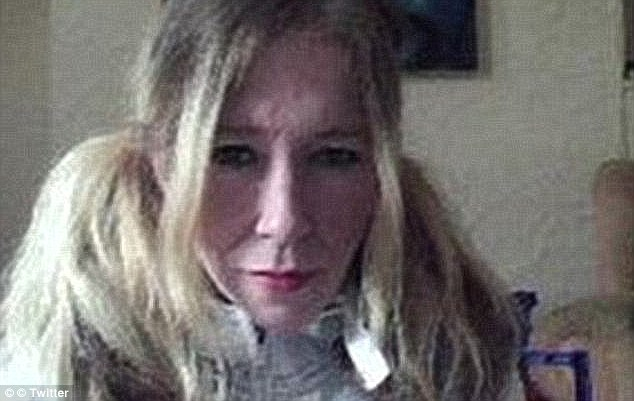 A woman claiming to be Jones (above) – dubbed Mrs Terror – has previously claimed to have leaked details of U.S. soldiers including the Navy SEAL who killed Osama Bin Laden