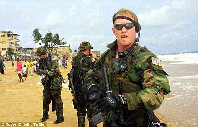 Robert O'Neill, who claimed he killed Osama Bin Laden with three shots during a raid on May 2011, is also one of the named targets. The Twitter account claims to have published his home address three times
