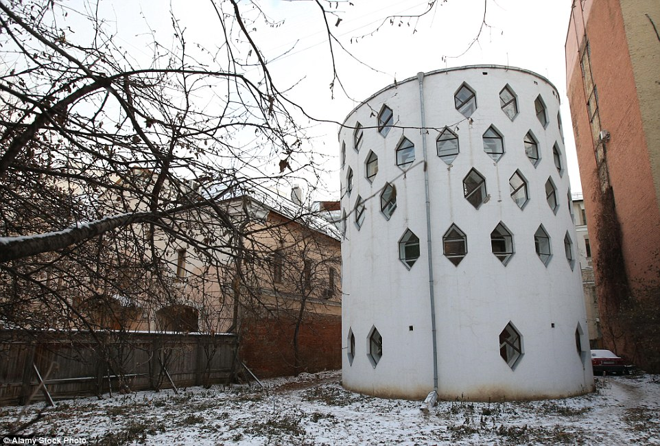 The unique Melnikov House in Moscow may stand out among other buildings due to its unusual cylindrical design, but it might not stand at all for much longer