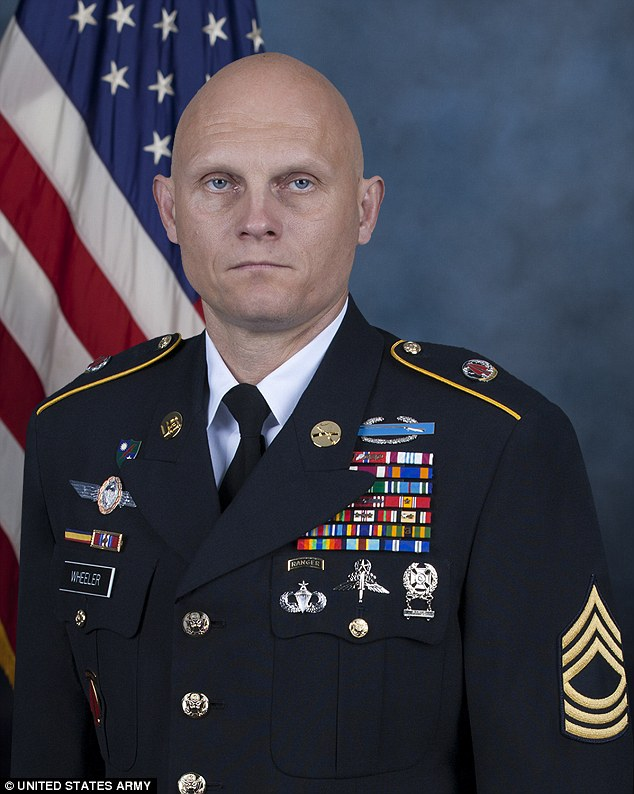 Casualty: Special Forces Master Sergeant Joshua Wheeler, 39,  was killed in the raid in Iraq this week