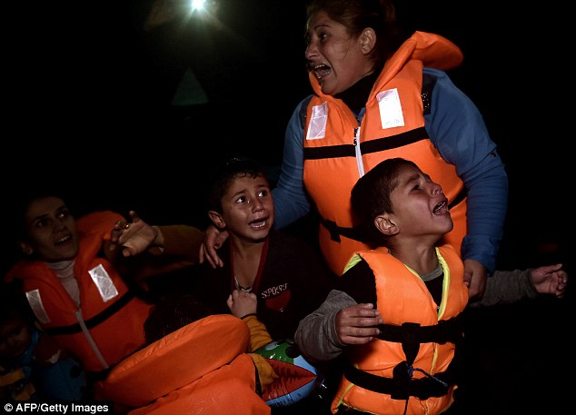 Zeman accused refugees and migrants of risking their children's lives crossing the Mediterranean in order to use them to secure a right to remain in the EU