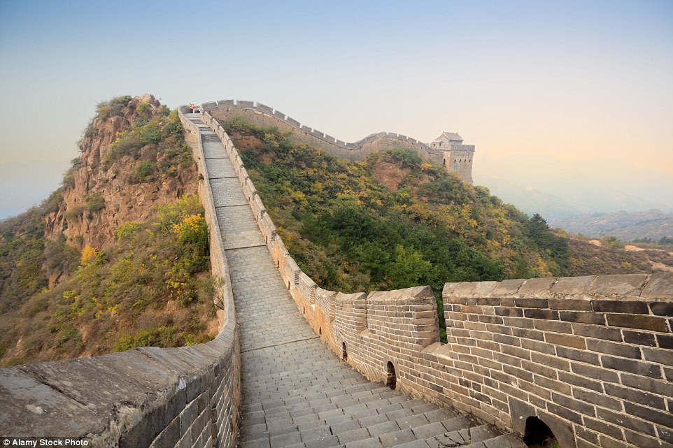 It may be one of the Seven World Wonders but nearly a third of the Great Wall of China has completely disappeared, according to a  report this year. Natural erosion, human destruction and a lack of protection means that a total of 1,220 miles of the wall, which dates back more than 2000 years, has vanished