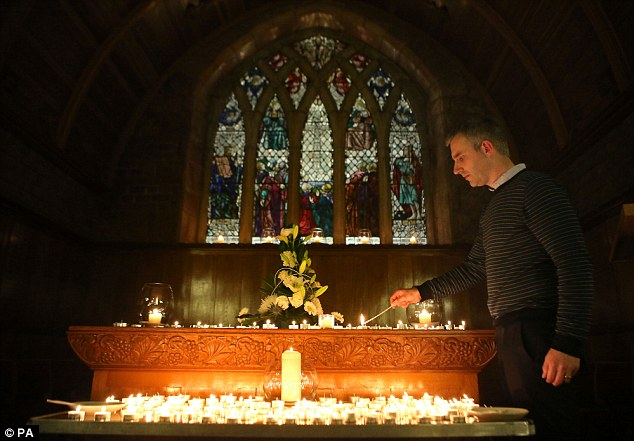 Around 400 of Bailey's friends and fellow school pupils gathered to remember him at Cults Parish Church