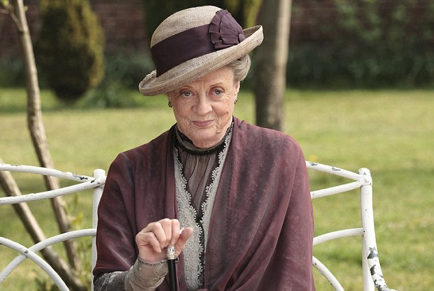 On the other hand, Maggie Smith's character in Downton is titled as a lady, but isn't one: she's simply too rude