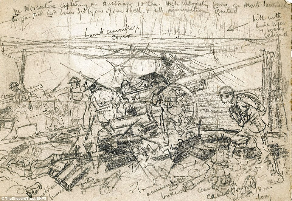 First World War Sketches By Winnie The Pooh Illustrator EH
