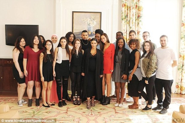 So much love:Also on Monday, Kim shared a look at her birthday brunch. The daughter of Kris Jenner, 59, did something very different by inviting some of her favorite social media followers to the Four Seasons Westlake Village Hotel for a gourmet lunch complete with goody bags