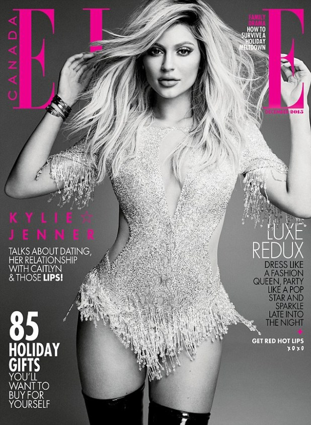 Hitting newsstands soon: Ultimately it was this picture of her wearing a tasseled LaBourjoisie bodysuit with latex boots that won from fan voting