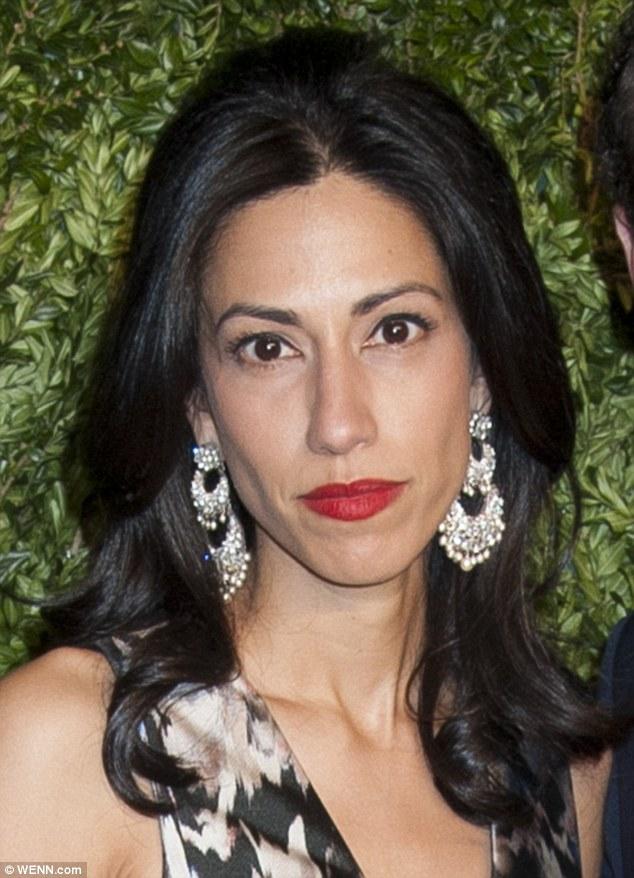 Huma Abedin Poses With Husband Anthony Weiner At Vogue