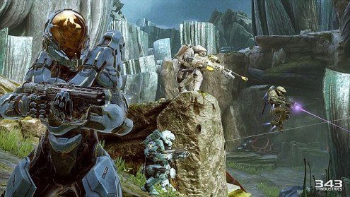 The video game that s bigger than Bond  Xbox s Halo 5  Guardians     Xbox video game Halo 5  Guardians reaped more money on its first day of  sales