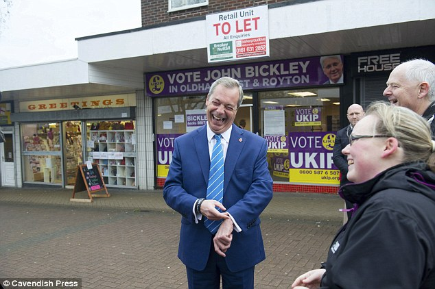Insiders say the situation has become so desperate that many staff wages went unpaid last month, and leader Nigel Farage has been forced to ring round backers begging for a financial lifeline