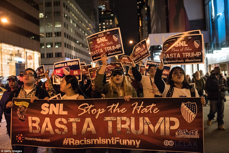 Image result for photos of recent anti trump protesters