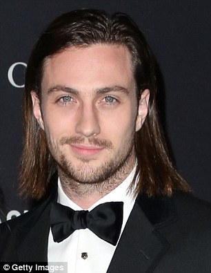 aaron taylor johnson and wife sam attend lacma film and art gala 2015 daily mail online