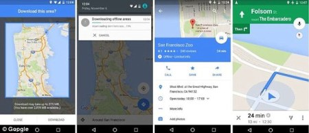 Google Maps can now be used when you re OFFLINE so you ll never get     Google Maps has gone offline  With an update for Android phones released  today  you