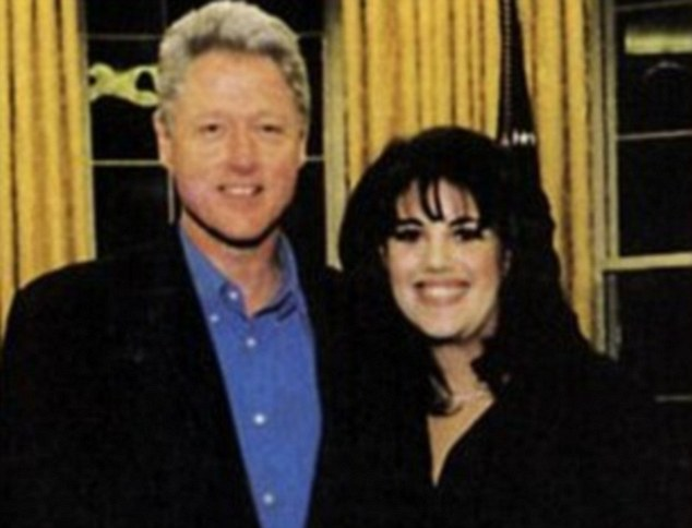 Image result for Bill Clinton and Monica