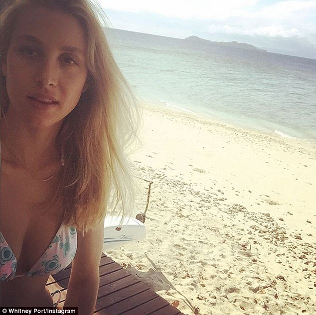 Whitney Port Slips Into A Bikini For Honeymoon In Fiji