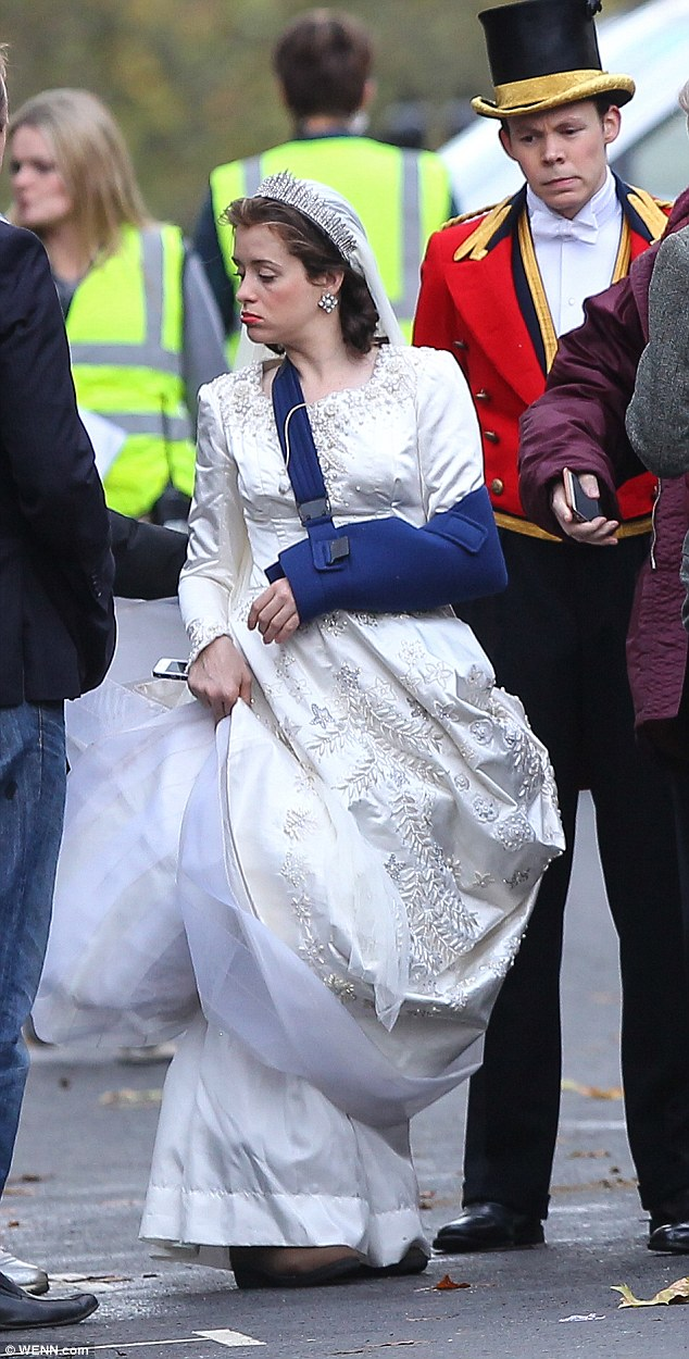 Claire Foy Looks Remarkably Similar To Queen Elizabeth II
