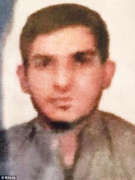 Serbian media says this is 25-year-old Ahmed Almuhamed who blew himself up at the Stade de France