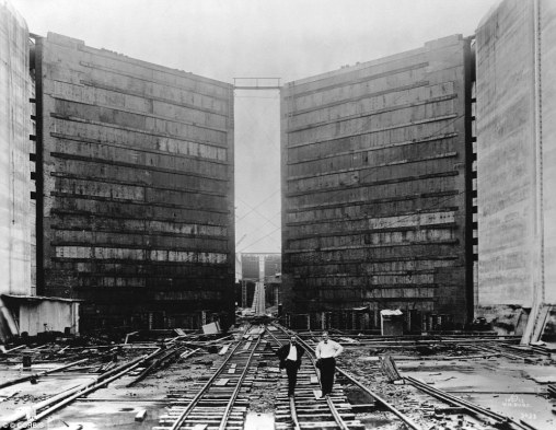 Image result for photos of panama canal construction