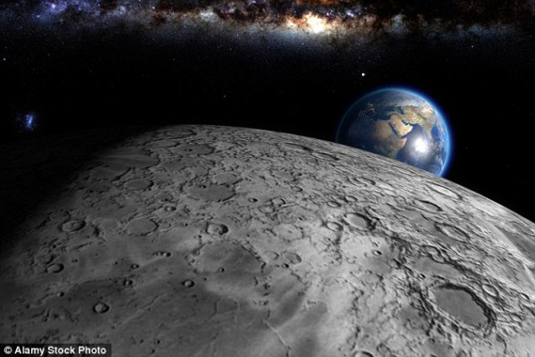 Did Earth steal water from a young moon? Study suggests ...