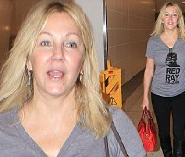 Heather Locklear In Los Angeles After Saying Her Heart Hurts For