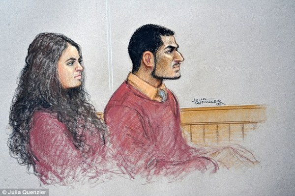 Extremist couple plotted ISIS-style suicide attack on ...