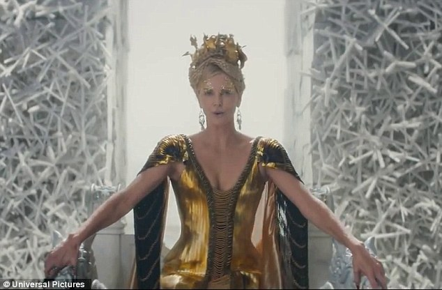 Lots done, more to do: Charlize returns to her throne with a chilling: 'We have much to do little sister'