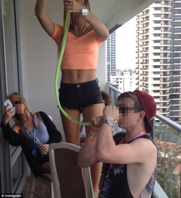 Schoolies Carnage Continues Across Australia As Wild