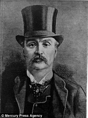 Jack the Ripper may finally have been unmasked following a claim he was a singer called Michael Maybrick who was protected by Masonic police. His brother James (pictured) has previously been named as the Ripper