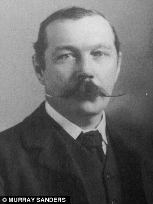 Sherlock Holmes creator Arthur Conan Doyle,
