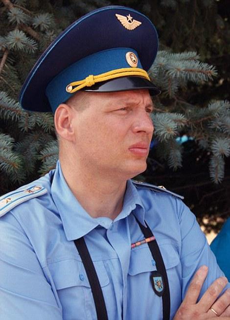 Sergei Rumyantsev, una de las principales en Shagol base aérea cerca de Chelyabinsk, se dice que es uno de los pilotos rusos derribados por turcos F-16