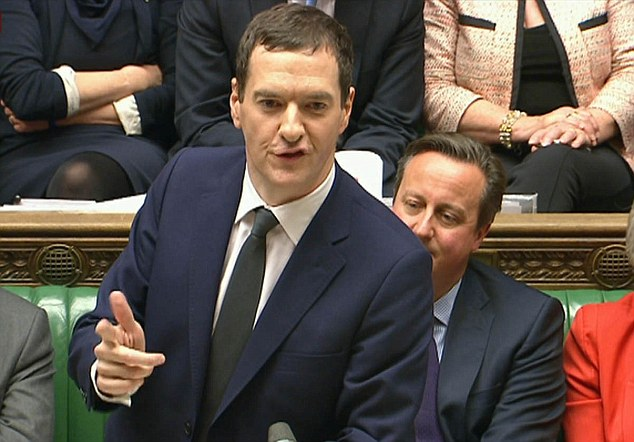 U-turn: Chancellor George Osborne axed his controversial tax credit cuts in the Autumn Statement today