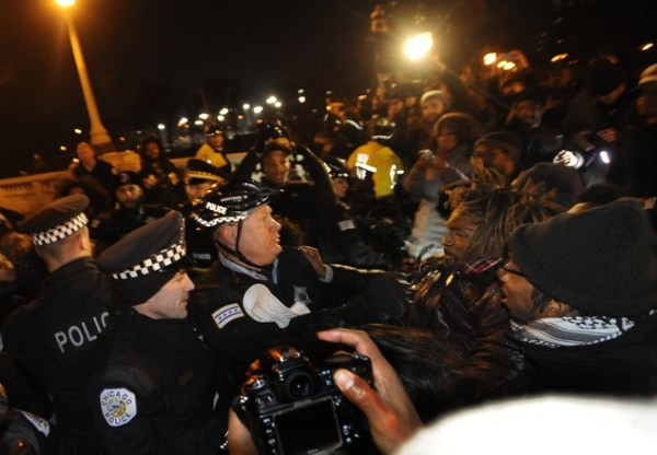 The Latest: Protesters in downtown Chicago disperse ...