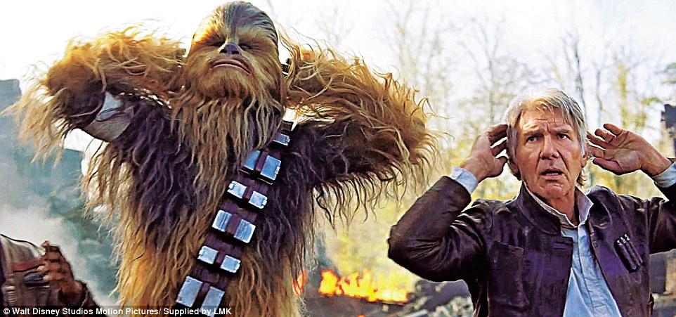 Resultado de imagen para chewbacca the force awakens