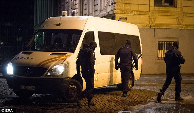 It is thought Abrini was the man who drove Salah Abdeslam to the border to Belgium, where the two men and a third unidentified assailant were briefly questioned by police
