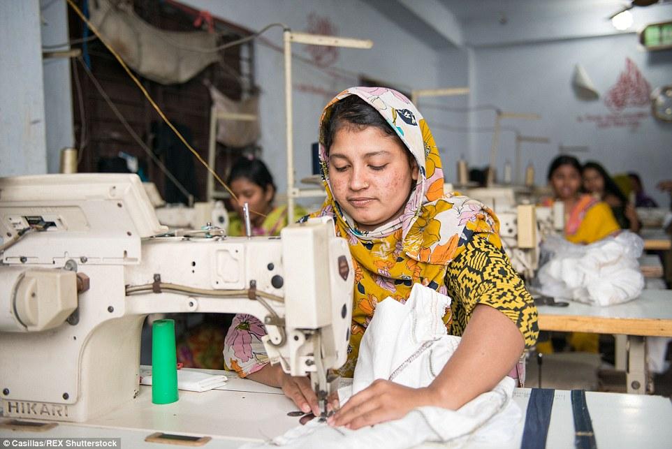 Hardwork: En promedio diario de un trabajador puede coser más de un millar de piezas