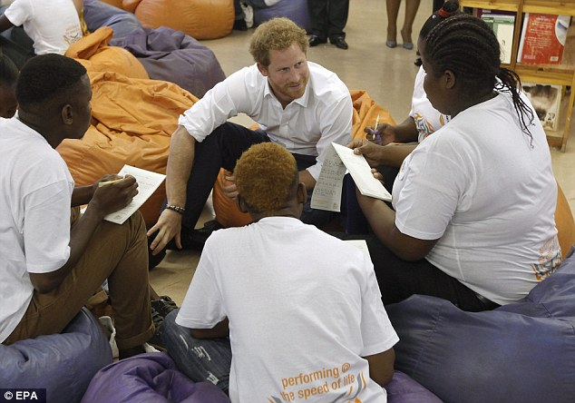 'You have to ask, if I had a young person following me, how would I want them to behave?' Harry said, as he discussed the importance of people in the public eye being role models