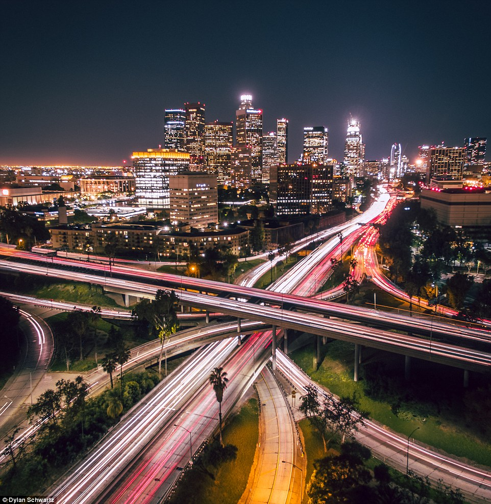 Entitled the City of Angels @dylan.schwartz posted this spectacular picture of the Los Angeles skyline