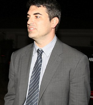Attorney David Chesley (pictured)made a bizarre reference to the Sandy Hook massacre when talking about Farook and Malik's shooting spree