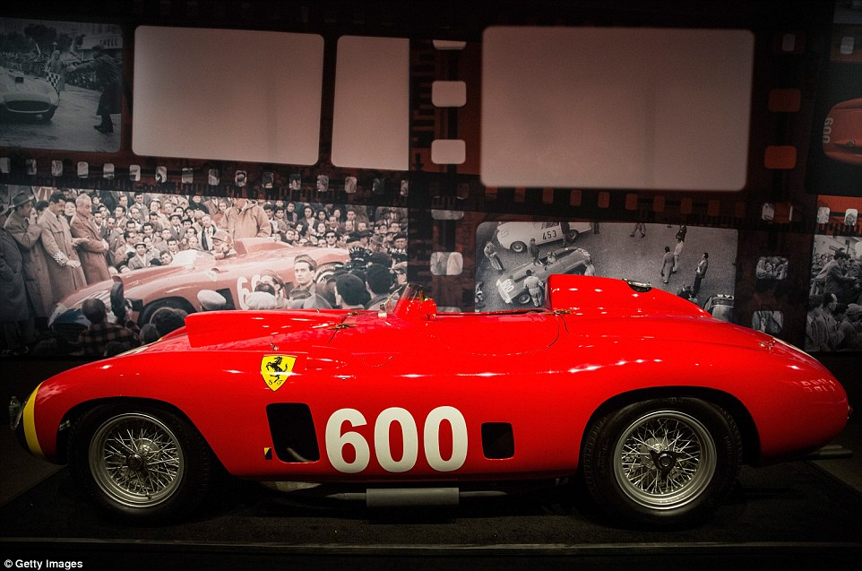 High expectations: The sale, featuring the Ferrari 290 MM byScaglietti, is due to take place on Thursday, December 10 in New York City
